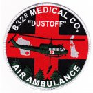 US Army 832nd Aviation Medical Company Air Ambulance Military Patch DUSTOFF