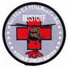 US Army 111th Aviation Air Ambulance Regiment Dustoff Razorback MEDEVAC Patch