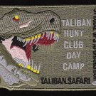 US Army Taliban Hunt Club Day Camp Safari Special Ops Afghanistan Patch