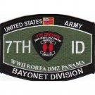 US Army Armed Forces 7th Infantry Division MOS Patch