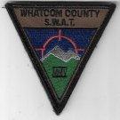 Whatcom County S.W.A.T. MMV Patch obsolete novelty