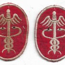 US Army Vietnam Medical Vintage Patches Set of 2