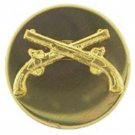 US Army Enlisted Men Military Police MP Collar Pin Set Of Two