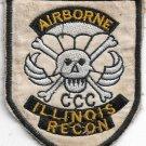 US Army ILLINOIS RECON AIRBORNE Vietnam Vintage Patch