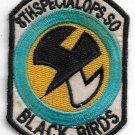 USAF 8th Special Ops Sqardron Black Birds Vintage Vietnam Patch