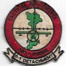 USMC TAC 0-1 Detachment Airborne Tactical Air Control Vintage Vietnam Patch