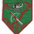 US Army RT INDIANA CCN THAM SAT 5th SF Grp MACV-SOG Team Vintage Vietnam Patch