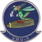 USMC VMU 4 Marine Unmanned Aerial Vehicle Squadron Patch @