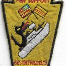 US Navy NAS Detmytho Per Support Best in the delta Vietnam Vintage Patch