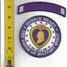 Purple Heart Merit 4'' Patch with 4'' Tab