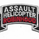 US Army 173rd Assault Helicopter Robinhood Company Tab Patch Set of Two