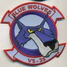 US NAVY VS-35 BLUE WOLVES Patch @