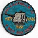 1968 USCG CGC CAMPBELL W-32 Vietnam Vintage Patch