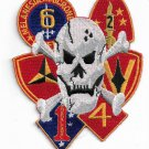 USMC 1st Marine Division though the 6th Patch only 1 on ebay