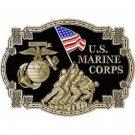 United States American USMC IWO JIMA Belt Buckle