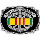 United States American Vietnam Veteran Military Belt Buckle