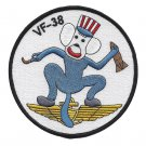 US NAVY Vertical Fighter Squadron VF-38 Patch