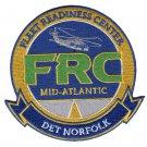 US Navy Fleet Readiness Center Mid-Atlantic Naval Air Station Virginia Patch