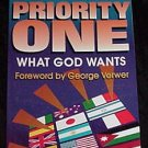 Priority One, What God Wants! Book by Norm Lewis