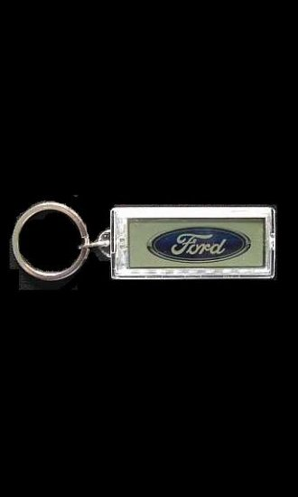FORD SOLAR POWER FLASHING KEY RING