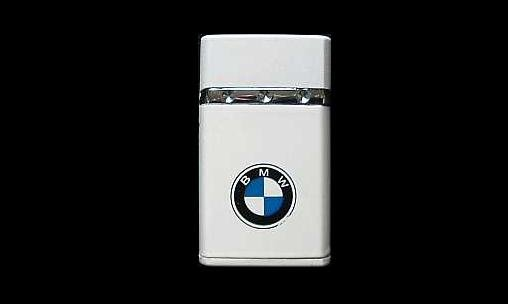 BMW LADIES STYLISH WHITE PURSE POCKET GAS LIGHTER