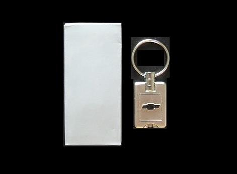 CHEVROLET KEY RING FOB WITH INTEGRAL NIGHT LIGHT