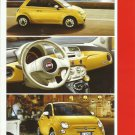 FIAT 500 UKRAINIAN LANGUAGE CAR SPECIFICATIONS PAGE HANDOUT