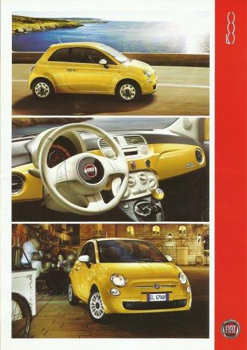 FIAT 500 UKRAINIAN LANGUAGE CAR SPECIFICATIONS PAGE HANDOUT