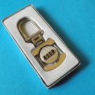 AUDI POLISHED STEEL KEY RING  STYLISH LOCK DESIGN