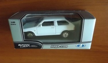 LADA 2108 1:60 AUTOMOTIVE COLLETION BY WELLY SCALE MODELS