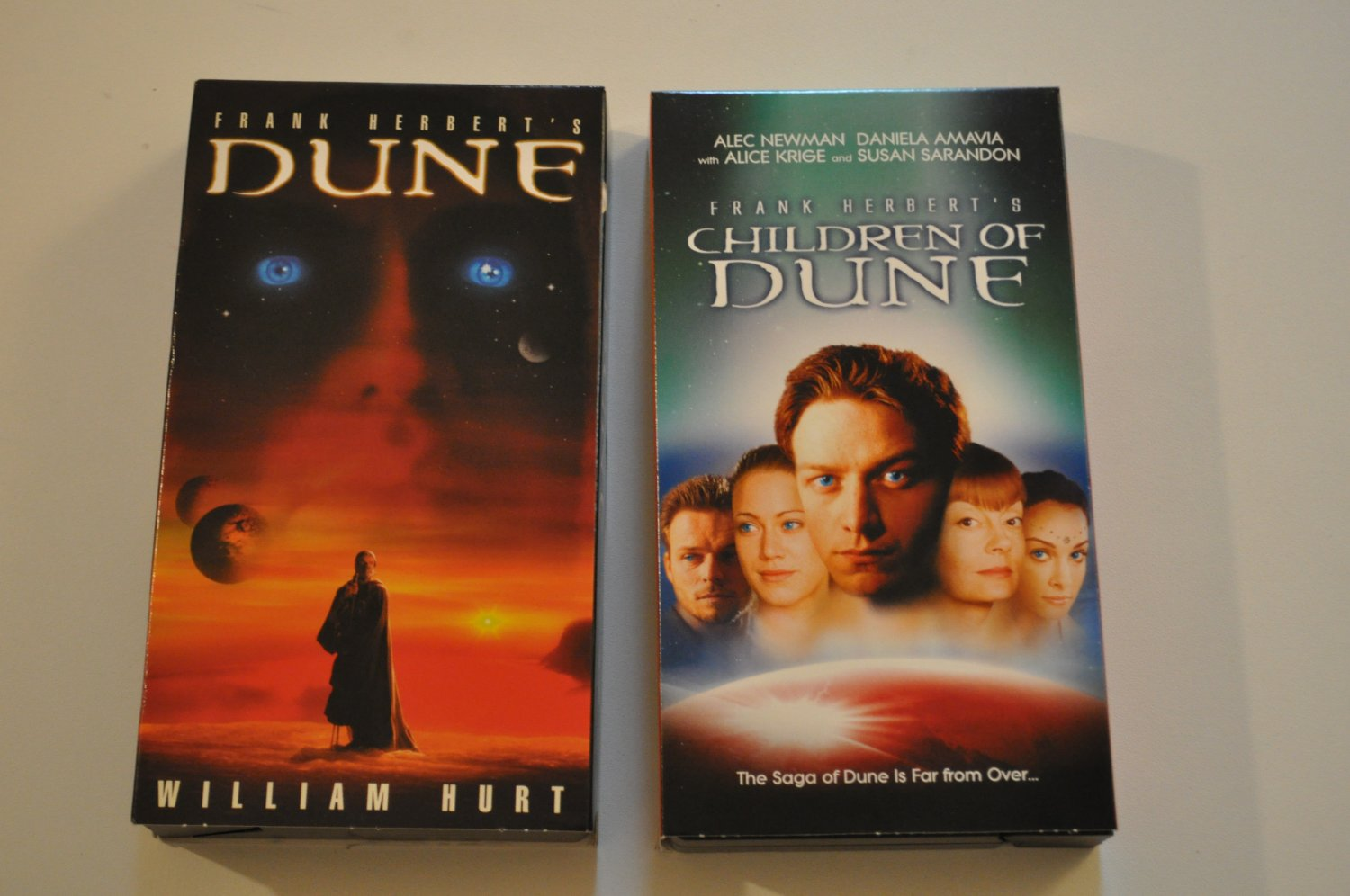 Dune and Children of Dune, 2 VHS tapes