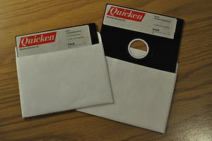 """Quicken 4.0 Vintage Software 5"""" Disk as-is"""