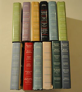 Lot of 12 Reader's Digest Select Editions, 2001 - 2008 hardcover