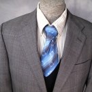 Mens Sport Coat Blazer 43R HICKEY FREEMAN Fine Italian Wool Super 120s