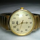 TIMEX AUTOMATIC MEN'S INDIGLO GOLD WRIST WATCH EUC