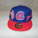 NEW ATLANTA BRAVES NEW ERA FITTED HAT  RETRO ALL SIZES