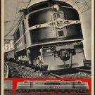 "Large Photo:(11x17)Vintage Travel Poster Reprint:""New Haven Railroad, Coaches""-"