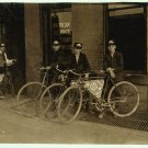 *NEW* VINTAGE ANTIQUE BICYCLE PHOTO: ADT MESSENGER BOYS, INDIANAPOLIS, INDIANA