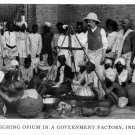 Old Vintage PHOTO PRINT:Antique Image: WEIGHING OPIUM IN GOV. FACTORY, INDIA
