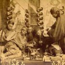 Old Vintage PHOTO PRINT:Antique Image: CHINESE MEN IN OPIUM DEN, CHINA UNKNOWN