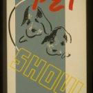 "Old Vintage WPA Photo Reprint: ""DISTRICT NO. 2"" PET SHOW -Recreation Project"