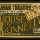 "Old Vintage WPA Photo Reprint: ""HOUSE OF CONNELLY"" Play--Hill @ 11th Portland"
