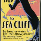 Old Vintage WPA Photo Reprint: VILLAGE OF SEA CLIFF, NY---250 ft Mosquitoes WPA