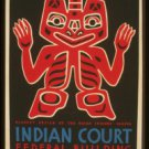Old Vintage WPA Photo Reprint:Indian Court, Golden Gate Exposition,San Fran 1939