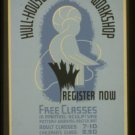 Old Vintage WPA Photo Reprint: 800 S. Halsted, Chicago, Illinois, Workshop Class