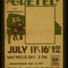 Old Vintage WPA Photo Reprint: HANSEL AND GRETEL-NY- WPA THEATRE 614 SW 11th Str
