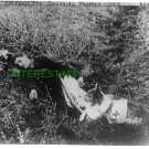 RED CROSS DOG HELPING WOUNDED 1909 WWI ITALY (8x10) ANTIQUE DOG RP PHOTOGRAPH