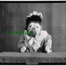 """THE MISSIS"" DOG IN DRESS IN 1905 (8x10) ANTIQUE DOG RP PHOTOGRAPH"