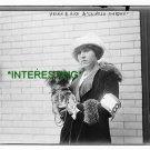 "HELEN B. RICH & ""CHINESE GORDON"" IN 1912 (8x10) ANTIQUE RP DOG PHOTOGRAPH"
