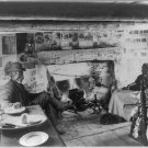 *NEW* AFRICAN AMERICAN COUPLE IN CABIN IN 1900 (8x10) ANTIQUE DOG PHOTOGRAPH